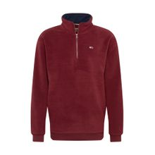 Tommy Jeans Sweatshirt 'POLAR' burgunder