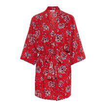 PIECES Kimono mischfarben / hummer