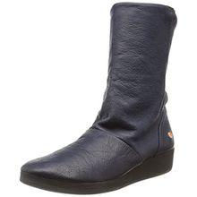 Softinos Damen Ann417Sof Stiefel, Blau (Navy 002), 39 EU