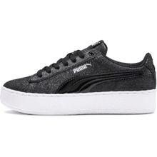 PUMA Sneaker 'Vikky Platform Glitz Jr' schwarz