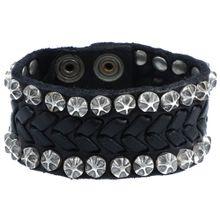 Campomaggi Armband 20 cm schwarz / silber