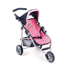 CHIC2000 Puppen-Jogging-Buggy, »Lola, Pink Checker«