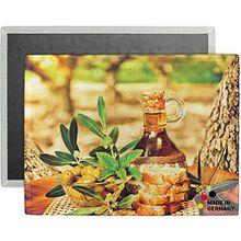 matches21 Tischset Platzset COMFORTWASH italienisch Mediterran Olivenöl Oliven 1 Stk. Maschinenwaschbar 40x30x0,5 cm