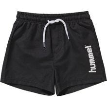 Hummel Boardshorts schwarz / weiß