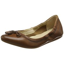 Hush Puppies Damen Ballerinas Lexa Heather Bow, Braun (Tan), Gr. 38 (UK 5)