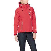 Geographical Norway Damen Sweatjacke Tehouda Lady Assort A, Rot (Coral), Medium (Herstellergröße: 2)