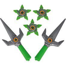 Next Ninja Messer und Wurfsterne Jungen Kinder