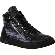 Armani Jeans Woman Sneaker 9250007A662-40820 Damen Sneaker (37, Black)