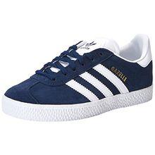 adidas Unisex-Kinder Gazelle Sneaker, Blau (Conavy/Ftwwht/Ftwwht By9162), 28 EU