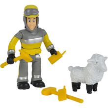 Feuerwehrmann Sam - Tierrettung Figuren Set Elvis + Wolli