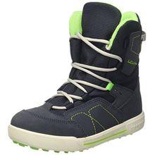 Lowa Unisex-Kinder Raik GTX Mid Trekking-& Wanderhalbschuhe, Blau (Navy/Limone_Navy/Lime), 37 EU