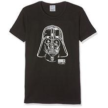 Kinder T-Shirt Star Wars Darth Vader Portrait schwarz von Logoshirt (170/176)