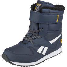 REEBOK Winterstiefel 'Snow Jogger' dunkelblau / gelb / weiß