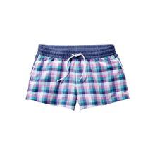 BUFFALO Shorts marine / türkis / lila / weiß