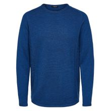 SELECTED HOMME Strickpullover blau