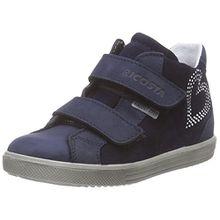 Ricosta Masira, Mädchen Sneakers, Blau (Nautic 175), 33 EU (1 Kinder UK)