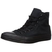 Converse Chuck Taylor All Star, Unisex-Erwachsene Hohe Sneakers, Schwarz (M9160 Schwarz), EU 48 EU