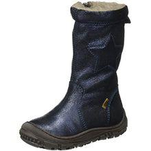 Bisgaard Unisex-Kinder Stiefel, Blau (611 Blue), 34 EU