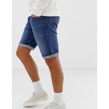 Lee Jeans – Jeans-Shorts mit 5 Taschen-Blau