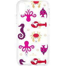 Sea Life Smartphone Schutzhülle mit integriertem Stoßschutz, iPhone® X/XS, transparent