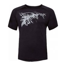 Odlo - BL Crew neck S/S CONCORD Herren T-Shirt (schwarz) - XXL