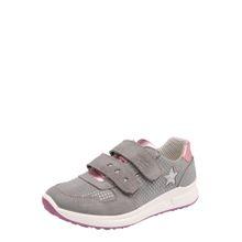 SUPERFIT Sneaker 'MERIDA HS' grau / rosa
