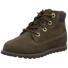 Timberland Pokey Pine 6in, Unisex-Kinder Kurzschaft Stiefel, Braun (Brown), 28 EU