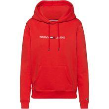 Tommy Jeans Sweatshirt hellrot