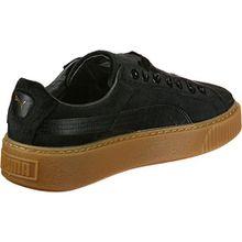Puma Basket Platform Vs Damen Sneaker Schwarz