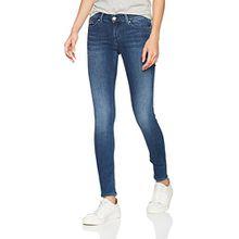 Tommy Jeans Damen Skinny Skinny Jeans MID RISE SKINNY NORA NMST, Blau (Niceville Mid Stretch 916), W28/L34 (Herstellergröße: 3428)