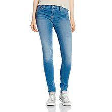 Hilfiger Denim Damen Skinny Jeanshose Mid rise Nora SCST, Gr. W30/L32, Blau (SANTA CRUZ STRETCH 567)