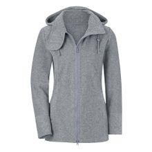 Casual Looks Fleece-Jacke mit Rautenstepp