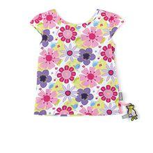 Sigikid Mädchen T-Shirt, Mini, Mehrfarbig (Mehrfarbig M), 122