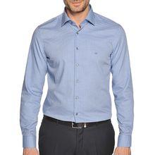 Calvin Klein Hemd Custom Fit in blau für Herren