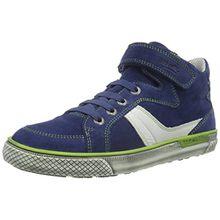 Superfit Luke 700198, Jungen Hohe Sneakers, Blau (Water Kombi 88), 38 EU