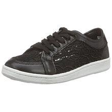 Sofie Schnoor Lace Sneaker, Damen Sneakers, Schwarz (Black), 38 EU