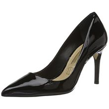 Buffalo London Damen ZS 6557-16 Patent Pumps, Schwarz (Black 01), 40 EU