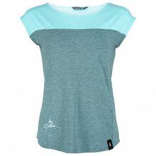 Chillaz - Women's Biella Deer Logo Cotton - T-Shirt Gr 36;38;40;42 türkis/grau;lila