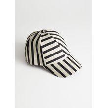 Striped Cap - Brown