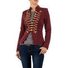 Admiral Uniform Jacke Für Damen , Rot In Gr. M bei Ital-Design