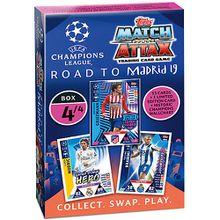 UEFA Champions League Road to Madrid 2018/2019 Karten Deck Box 4 - Lila