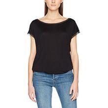 Tigha Damen T-Shirt Aya, Schwarz (Black 900), 38 (Herstellergröße: M)