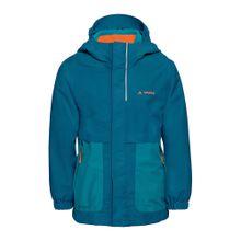 VAUDE Outdoorjacke 3in1 'Campfire' blau / türkis / orange