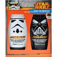 Star Wars Pflege Körperpflege Badeset 2 x Bath & Shower Foam 150 ml 1 Stk.