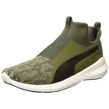 Puma Damen Rebel Mid VR Hohe Sneaker, Grün (Olive Night-Olive Night), 41 EU