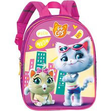 Kinderrucksack 44 Cats Milady & Pilou pink