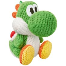 amiibo Figur Woll-Yoshi (Grün/Wolly World)