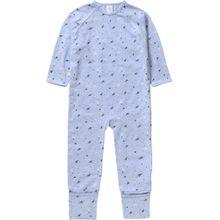 SANETTA Schlafanzug beige / blau / hellblau