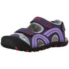 Kamik Seaturtle, Unisex-Kinder Geschlossene Sandalen, Violett (Purple/Pur), 23 EU