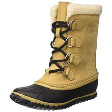Sorel Damen Caribou Slim Schneestiefel, Braun (Curry/Black), 42 EU